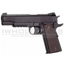 KWC 1911 Co2 Pistol (Non-Blowback - Full Metal - Slide - Black - KWC-KC-40DHN)