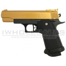 Galaxy G10 Spring Metal Pistol (G10 - Gold)
