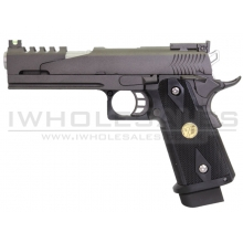 WE 5.1 Dragon Gas Blowback Pistol (Version B - Black)