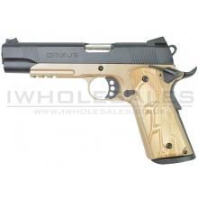 APS AG Crixus 1911 Gas Blowback Pistol (APS-CRIXUS)