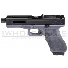 Secutor - Gladius - 17 Series Custom Pistol (Black Barrel - Co2 Powered - Gas Ready - Grey)