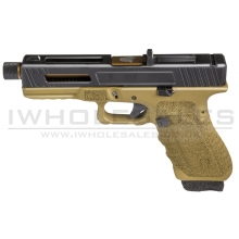 Secutor - Gladius - 17 Series Custom Pistol (Bronze Barrel - Co2 Powered - Gas Ready - Bronze)