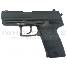 HFC ST8 Gas Pistol (Blowback - Black - Metal - GGB-9608SM)