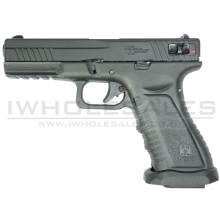 APS Black Hornet (Co2 Pistol - Semi/Fully Automatic - Black)
