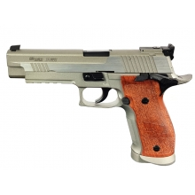 Sig Sauer X-Five Hairline BAX Co2 Blowback Pistol (Silver - Cybergun - 280549)