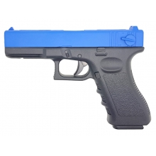 Golden Hawk 17 Series Pistol (1:1 Scale - Full Metal Slide - Blue)