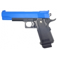 Golden Hawk 5.1 Series Pistol (1:1 Scale - Full Metal Slide - Blue)