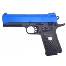 Golden Hawk 5.1 Custom Series Pistol (1:1 Scale - Full Metal Slide - Blue)