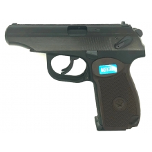 WE Double Barrel Makarov (Gas Blowback Pistol - Black)