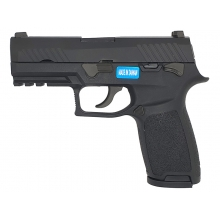 AEG F18 Gas Blowback Pistol (Black)