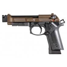 Secutor - Bellum - M9 Custom V GBBP (Co2 Powered - Gas Ready - Bronze/Black)
