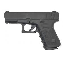 Saigo 23 Gas Blowback Pistol (Polymer - Black)