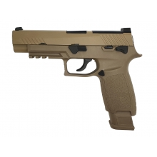 AEG F17 Gas Blowback Pistol (Tan)