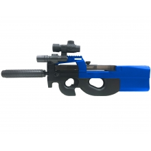 Well D90H D90 AEG Rifle (With Battery and Charger - Blue)