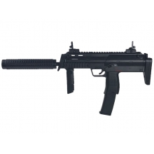 Well R4 AEG Sub-Machine with Silencer (Full Metal - Long Mag. - R4-BLACK)