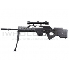 JG - SL86 G39 AEG Sniper Rifle + 3-9x Scope + Bipod (2238)
