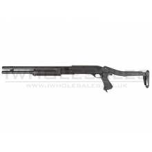 Cyma CM352L Tactical Short Barrel Tri-Shotgun Long (3 Burst) (Full Metal) (CYMA-CM352L)