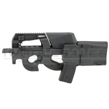 JG - D90 SMG - AEG with Inbuilt Box magazine & M4 Magazine (Black)