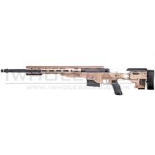 Ares MS338 CNC Sniper Rifle Spring Powered with Rails (Tan) (MSR-011)