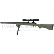 Snow Wolf VSR10 with Hunter Scope and Bipod (OD - SW-10G++)