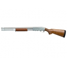 S&T ST870 STD Spring Shotgun (Full Metal - Silver - Limited Edition)