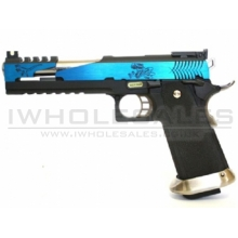WE Custom Hi-Capa IREX GBB (6 Inch - Blue - Type-C)