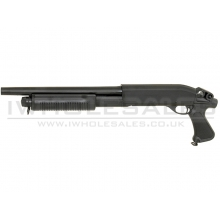 Cyma CM351M Sawed Off Short Barrel Tri-Shotgun (3 Burst - Full Metal) (CYMA-CM351M)