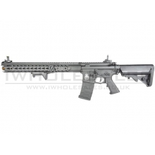 "APS ""Boar Tactical"" Silver Edge 17"" KeyMod (3 Gun) AEG (ASR-117 - Black)"