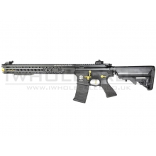 "APS ""Boar Tactical"" Silver Edge 17"" KeyMod (3 Gun) AEG (ASR-118 - Gold/Black)"