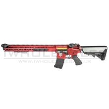 "APS ""Boar Tactical"" Silver Edge 17"" KeyMod (3 Gun) AEG (ASR-119 - Red)"
