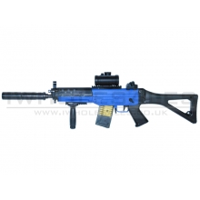 Double Eagle 555 AEG Rifle (M82 - Blue)