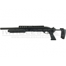 A&K Tactical 7870 Tri-Shot Shotgun (Full Metal - Black - SXR-005)