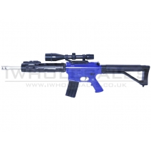 Cyma P136 Spring Action M4 Keymod Rifle (P136-BLUE)