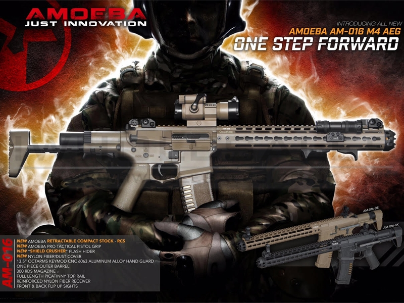 Image result for Ares Amoeba Octa Arms Honey Badger
