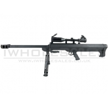Snow Wolf M99 Sniper Rifle with Hunter Scope and Bipod (Black - SW-01A)