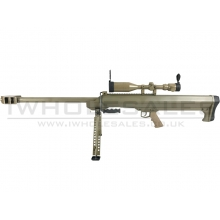 Snow Wolf M99 Sniper Rifle with Hunter Scope and Bipod (Tan - SW-01A-TAN)