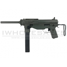 Snow Wolf M3A1 Grease SMG (Grey/Green - SW-06-01)