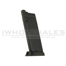 KJWorks USP Gas Magazine (Metal - Black)