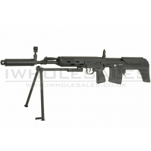 JG SVU Bullpup Sniper Rifle with Bipod (Full Metal - Black - SVU)