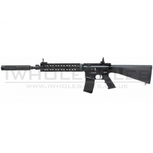 Bolt - B4 MK12 MOD 1 with Silencer DMR - semi-automatic only (Heavy Recoil System - Fixed Stock - Black - 400 FPS)