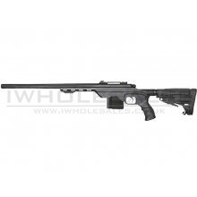 King Arms MDT LSS Tactical Rifle Sniper Rifle (Gas - Black - KA-AG-176-BK)