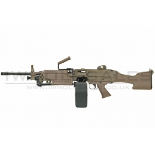A&K M249 with Sound Control Drum Magazine (Hard Stock) (AK-249-MK2-DE)
