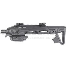 CAA Airsoft Division Roni G1 Pistol Carbine Conversion (Black - 17 Series - CAD-SK-01-BK)