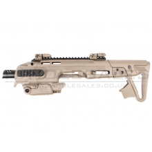 CAA Airsoft Division Roni G1 Pistol Carbine Conversion (Tan - 17 Series - CAD-SK-01-DE)