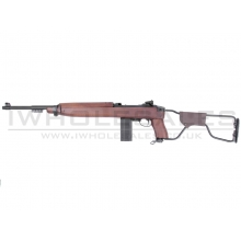 King Arms M1A1 Paratrooper Blowback Rifle (Real Wood - Co2 - KA-AG-126)