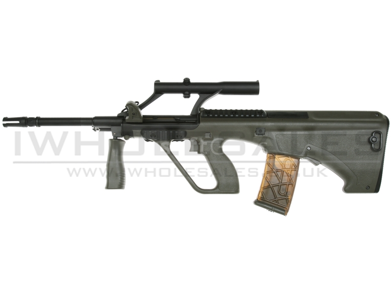 ARMY AUG Carbine LE Model AEG with Adjustable Scope (OD - ARMY-R903)