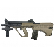Snow Wolf AEG AUG (Short - Tan - SW020T)
