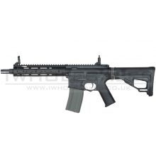 Ares Amoeba Octaarms Pro SR16 AEG with EFCS Unit (Full Metal - Black - Short - AR-073 - Black)