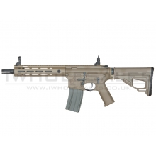 Ares Amoeba Octaarms Pro SR16 AEG with EFCS Unit (Full Metal - Tan - Short - AR-074 - Tan)