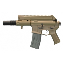 Ares Amoeba Tactical M4 AEG With Silencer (ARES-AM-004-DE - Tan)
